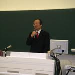 松村勝弘教授 定年退職最終講義